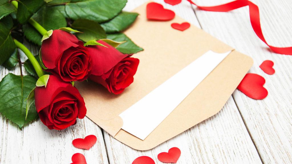 acquisto di rose online con dedica personalizzata